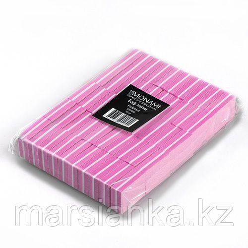 Мини баф Monami 100/180, 50шт нежно-розовый