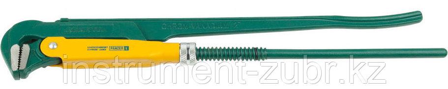 """Ключ KRAFTOOL трубный, тип """"PANZER-L"""", прямые губки, Cr-V сталь, цельнокованный, 2""""/560мм, фото 2"""
