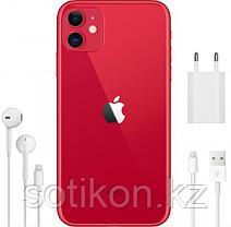 Смартфон Apple iPhone 11 128 GB Red, фото 3
