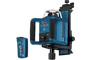 Лазерный нивелир, ротационный, Bosch GRL 300 HV Professional, 300 м (радиус), 0 601 061 501