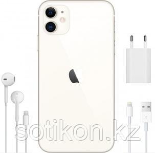 Смартфон Apple iPhone 11 128 GB White, фото 2