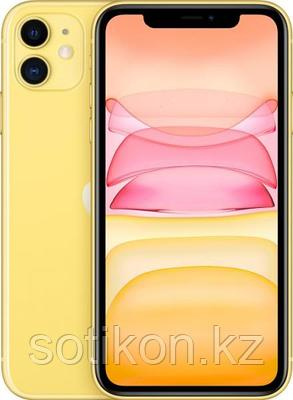 Смартфон Apple iPhone 11 64 GB Yellow, фото 2