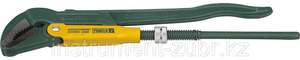 """Ключ трубный рычажный KRAFTOOL, тип """"V"""", цельнокованый, Сr-V, 580мм / 2"""""""