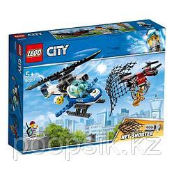 LEGO City Воздушная полиция: Погоня дронов