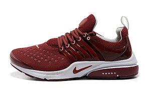 Летние кроссовки Nike Air Presto Summer 2015 бордовые, фото 2