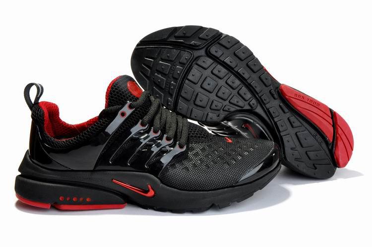 Летние кроссовки Nike Air Presto Summer 2015 черно-красные
