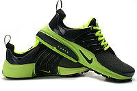 Летние кроссовки Nike Air Presto Summer 2015 черно-зеленые