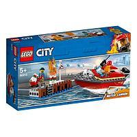 LEGO City Пожарные: Пожар в порту