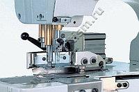 Устройство автоматической обрезки ниток и тесьмы с вытяжкой для плоскошовных машин AT