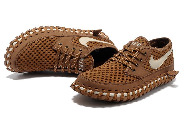 Летние кроссовки ( сандали ) Nike ACG Long сетка , коричневые