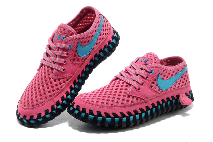 Летние кроссовки ( сандали ) Nike ACG Long сетка , розовые