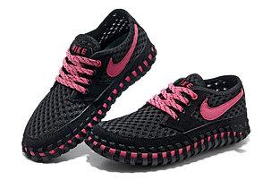 Летние кроссовки ( сандали ) Nike ACG Long сетка , черные, фото 2