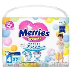Merries Трусики Merries 4, L, 27 шт/упак.