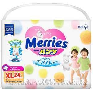Merries Трусики Merries 5, (B) XL, 24 шт/упак.