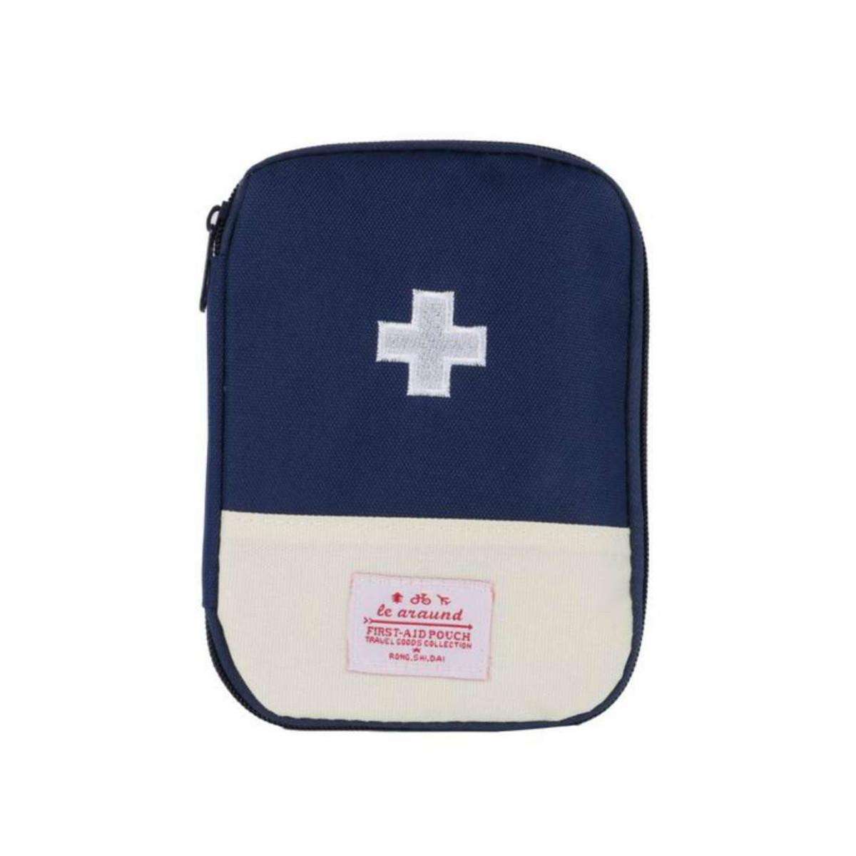 Портативная аптечка синяя