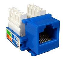 SHIP M245-3 Модуль для информационной розетки Cat.5e, RJ-45, UTP, Синий