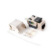SHIP M247 Модуль для информационной розетки Cat.5e, RJ-45,FTP, Серый
