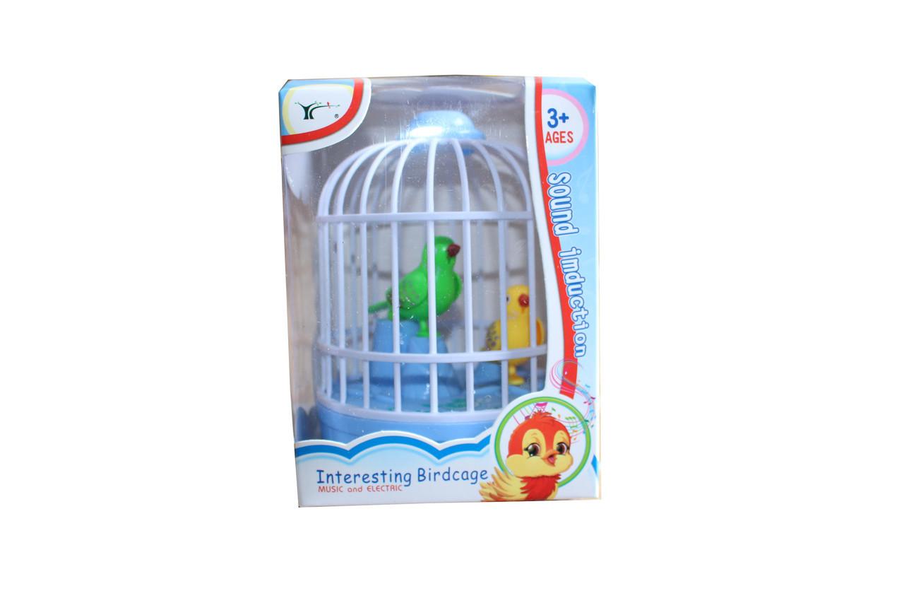 Птичка в клетке 8501