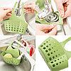 Органайзер для кухни и ванной на кнопке зеленый, фото 5