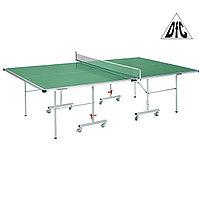 Всепогодный теннисный стол DFC Tornado зеленый S600G, фото 1