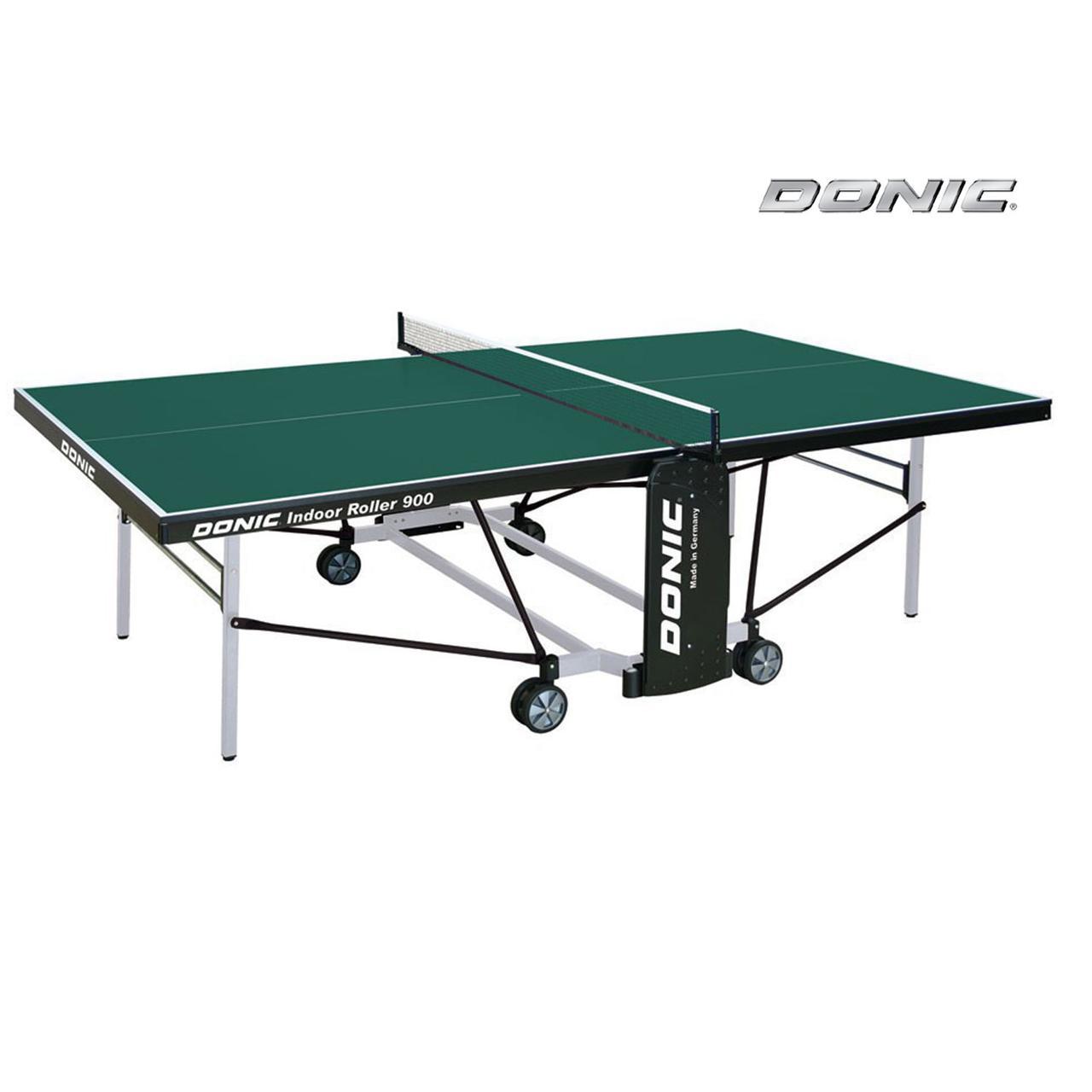 Теннисный стол Donic Indoor Roller 900 зеленый
