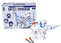 0838 Бронтозавр боевой стреляет + 3 стрелы Battle Dinosaur 18*24см