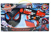 Sb472 Бластер с маской Спайдермен + 6 патронов 44*28см