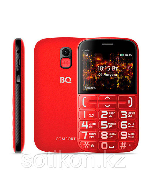 BQ BQM-2441  Красный+Черный