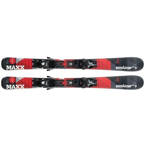 Elan  лыжи горные Maxx black-red QS el 4.5/7.5 shift solid-black