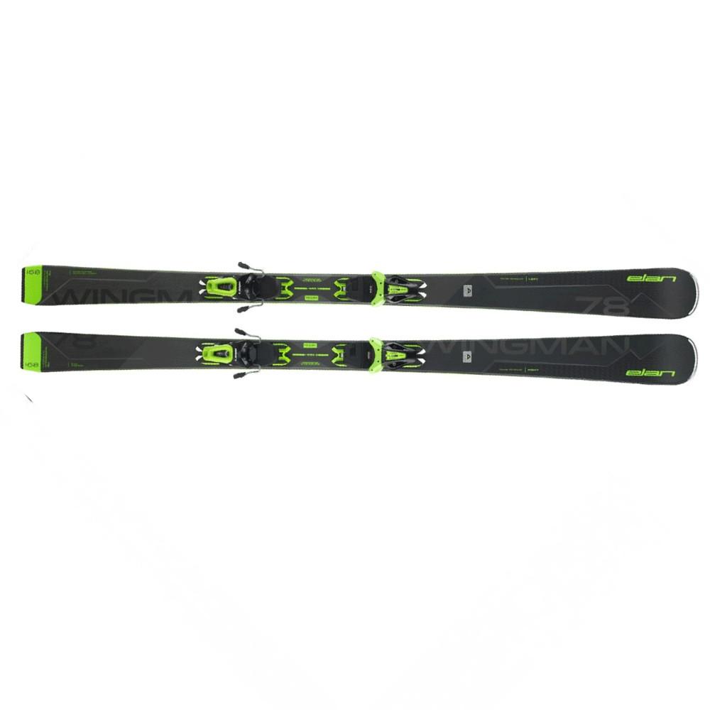 Elan  лыжи горные Wingman 78 C PS el10 GW shift black-green