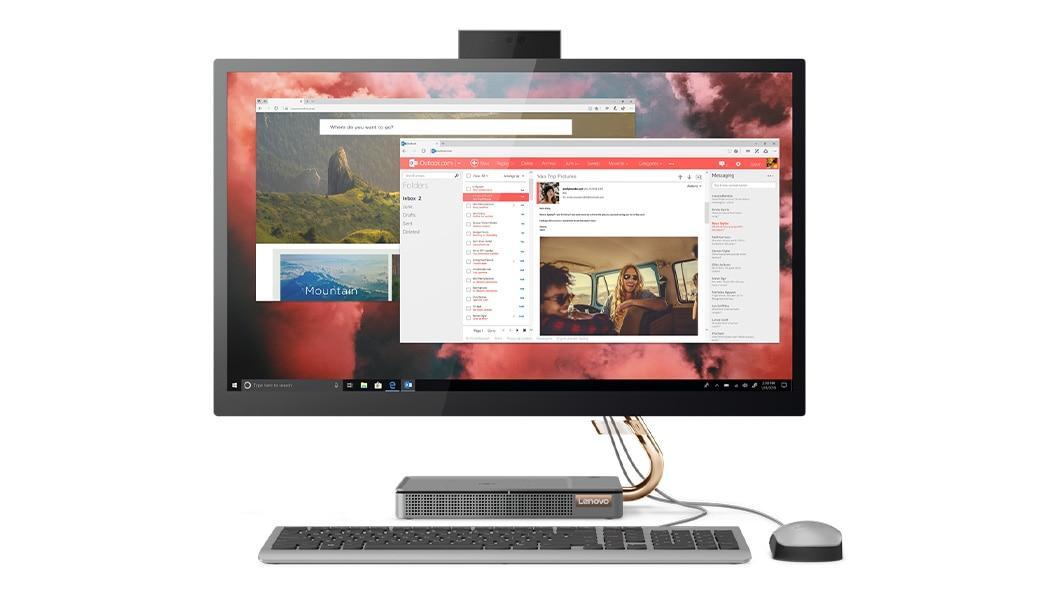 Моноблок Lenovo IdeaCentre A540-27ICB 27'' QHD(2560x1440) IPS/Intel Core i5-9400T 1.80GHz Hexa/8GB/1TB/GMA HD6