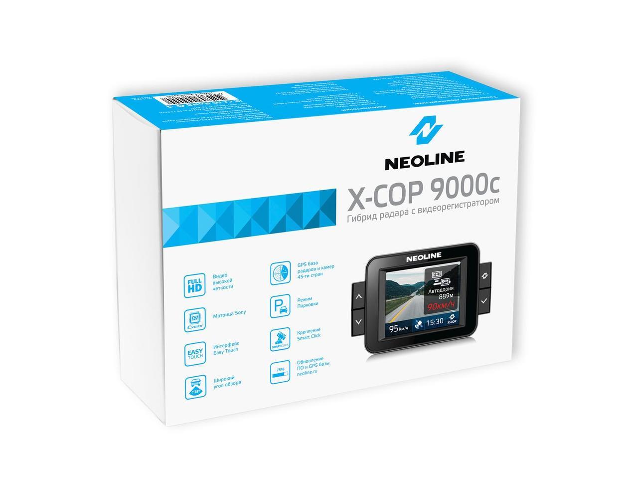 Видеорегистратор Neoline X-COP 9000С Black