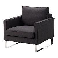 Кресло МЕЛБИ темно-серый ИКЕА, IKEA, фото 1