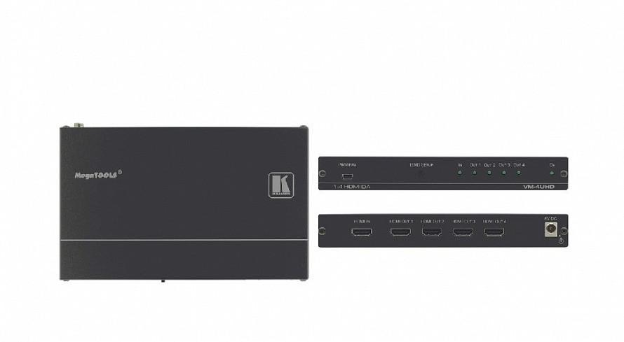 Усилитель-Распределитель Kramer VM-4UHD, 1;4 HDMI