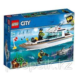 LEGO City Транспорт: Яхта для дайвинга