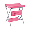 Пеленальный столик Фея розовый