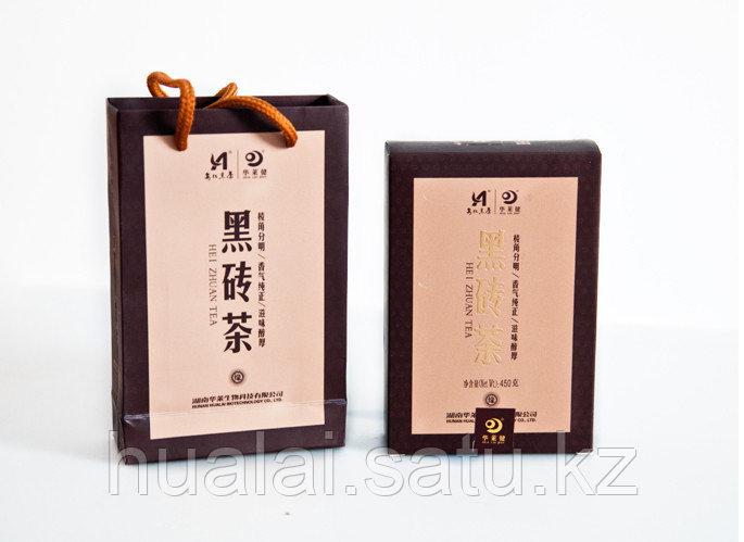 Черный кирпичный чай. 450 грамм