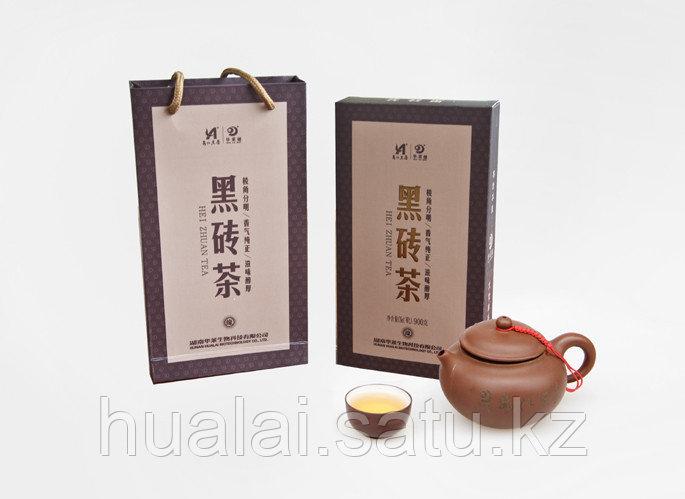 Черный кирпичный чай. 900 грамм.