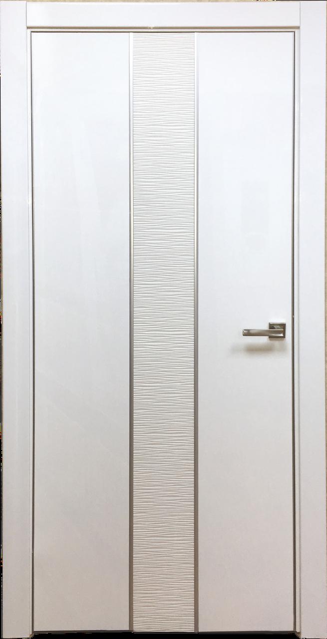 Межкомнатная дверь из ПВХ Герда белая