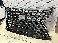 Решетка радиатора на Lexus GX460 2014-19 стиль 2020