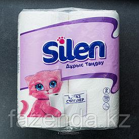 Полотенца бумажные SILEN 4 рулона