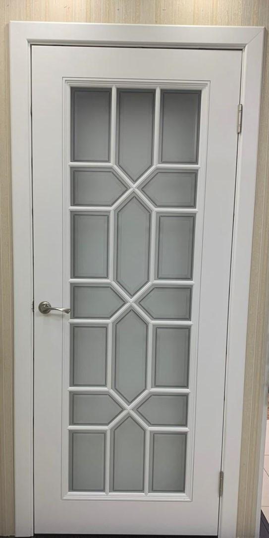 Межкомнатная дверь Смальта эмаль белая