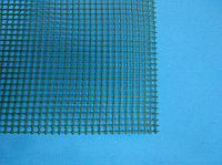 Сетка дренажная полимерная (цвет зеленый 4.5х4.5 мм) для сыра, 20х20 см