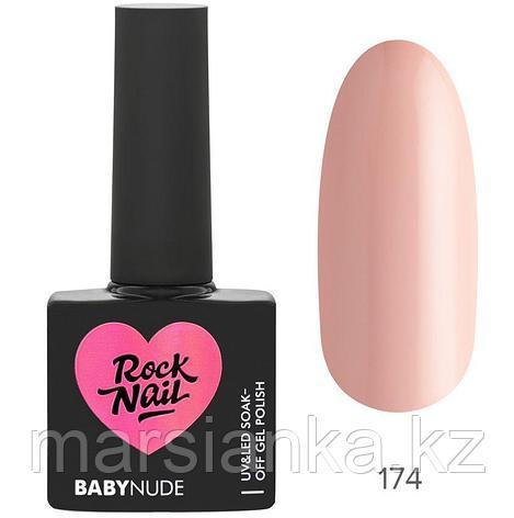 Гель-лак RockNail BabyNude #174 Creme Brulee, 10мл, фото 2