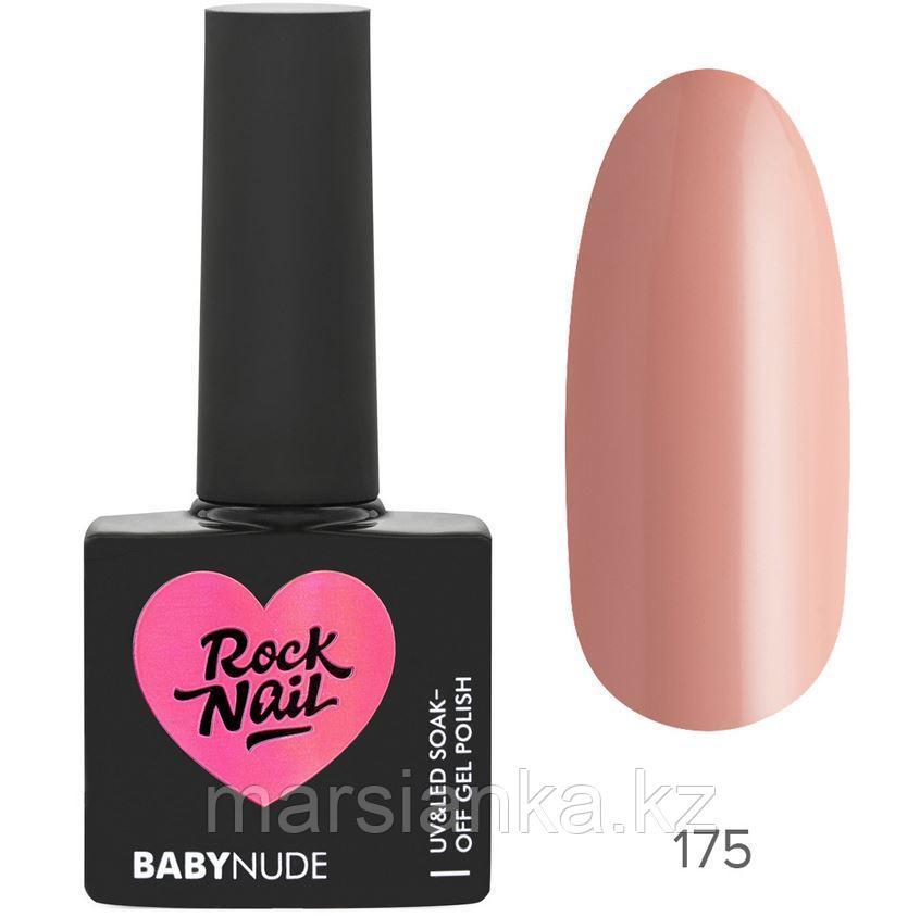 Гель-лак RockNail BabyNude #175 Nude, 10мл