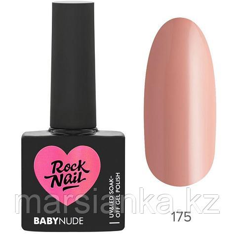 Гель-лак RockNail BabyNude #175 Nude, 10мл, фото 2