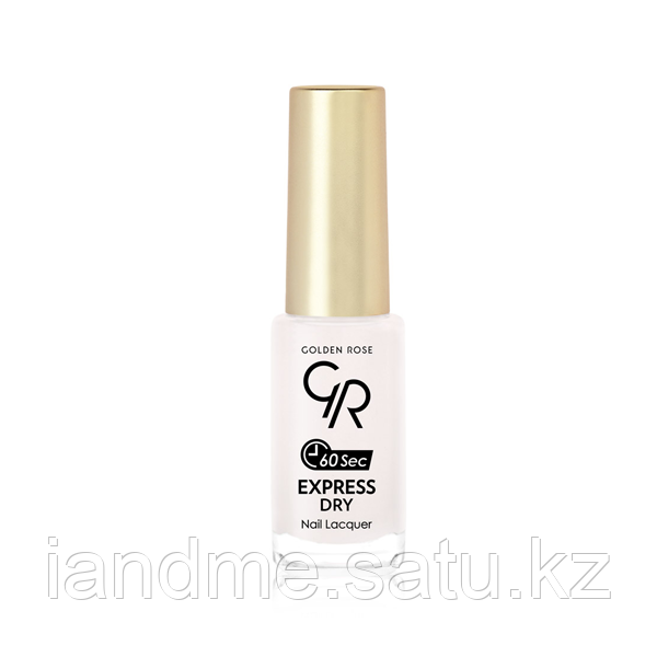 Лак для ногтей «Golden Rose» EXPRESS DRY Nail Lacque