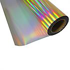 Термо флекс 0,5мх25м PU голографическое темное золото метр, фото 2