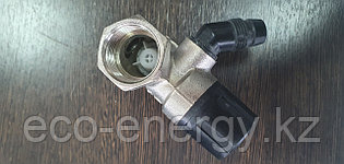 Предохранительный клапан для бойлера 3/4 (DN20) с вентилем