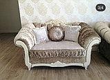 Диван  раскладной, софа и кресло  модель Барокко, фото 4